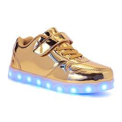 MINIKATA Unisex High Top LED Light up Shoes Flashing Sneaker