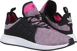 adidas Originals Unisex X_PLR Running Shoe, Shock Pink/Black