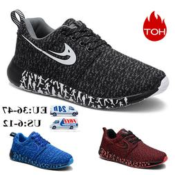 US Mens Trainers Running Fitness Shoes Mesh Sneakers Lace Up