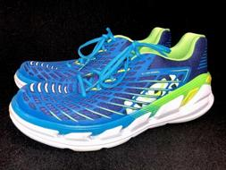 Hoka One One Vanquish 3 Running Tennis Shoes Blue Aster / Bl