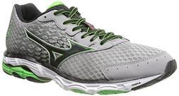 Mizuno Men's Wave Inspire 11 Running Shoe,Alloy Black,8 D US