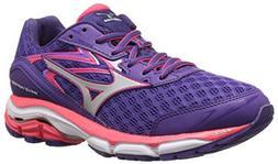 Mizuno Women's Wave Inspire 12 Running Shoe, Royal Purple/Si