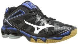 Mizuno Women's Wave Lightning RX3 Volley Ball Shoe,Black/Sil