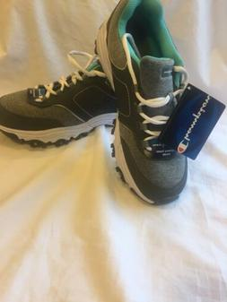 Womans 8.5 Champion Running/Walking Shoes New with Tags Gray