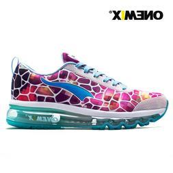 Onemix Womens air cushion Leisure Trail Running Shoes Walkin