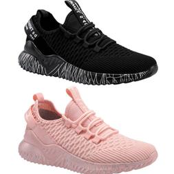 Women's Knit Running Athletic Shoes Outdoor Slip On Sneaker