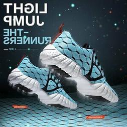 ALEADER Women's Lightweight Mesh Sport Running Shoes, Black,