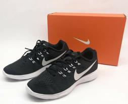 Nike Women's Lunartempo 2 Black Running Training Shoes Size