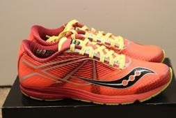 Saucony women's size 8 type A Running Shoes COR/CTN