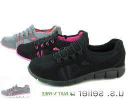 Women's Sneakers Running Shoes Athletic Casual Slip-On Light