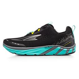Women's Altra Torin 4 Zero Drop Running Shoes - Black/Teal
