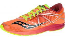 Saucony Women's Type A Running Shoes, ViZiPro Coral/Citron