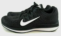 Nike Women's Zoom Winflo 5 Running Shoes Size 9.5 Black Whit