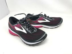 Womens Brooks  GHOST 10 Pink/Black running shoes
