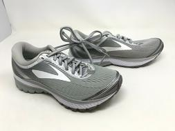 Womens Brooks  Ghost 10 Grey/White Running Shoes