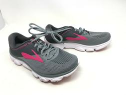 Womens Brooks  Anthem Gray/Pink Running Shoes