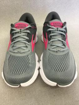 Womens Brooks  Anthem Running Shoes Grey/Ebony/Pink