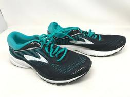 Womens Brooks  Launch 5 Black/Teal running shoes