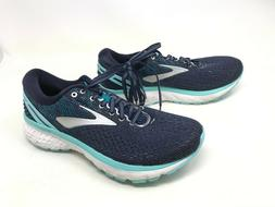 Womens Brooks  Ghost 11 Navy/Grey/Blue Running Shoes