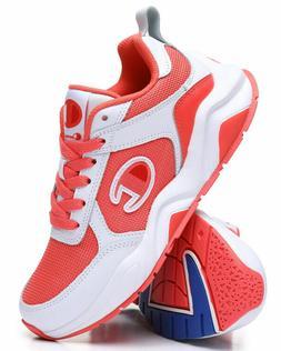 Womens Champion 93 Eighteen Mono Block Running Shoes Papaya