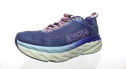 Hoka One One Womens Bondi 6 Blue Running Shoes Size 10.5