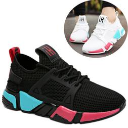 Womens Fashion Athletic Sneakers Running Shoes Outdooors Spo
