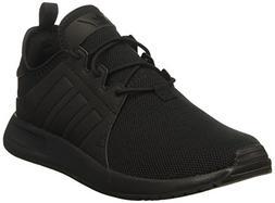 adidas Originals Boys' X_PLR J Running Shoe, Black, 5 Medium