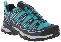 Salomon Women's X Ultra 2 GTX Hiking Shoe, Peacock Blue/Deep