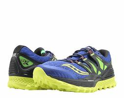 Saucony Xodus ISO Blue/Black/Citron Men's Running Shoes S203