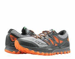 Saucony Xodus ISO Grey/Orange/Black Men's Running Shoes S203