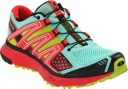 Salomon XR Mission Trail Running Shoe - Women's Celedon/Papa