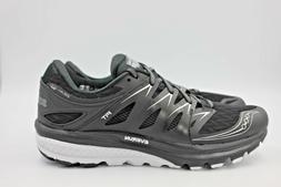 SAUCONY Zealot ISO 2 Black/White Men's Running Shoes - NEW
