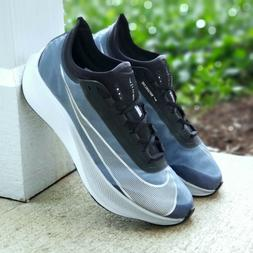 Nike Zoom Fly 3 Running Training Shoes Mens 10.5 Blue Metall