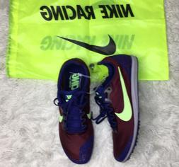 Nike Zoom Rival Distance Track Shoes With Spikes Mens Size 9