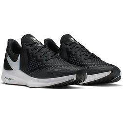 Nike Zoom Winflo 6 Men's Running Shoes Black/White-Dark Grey
