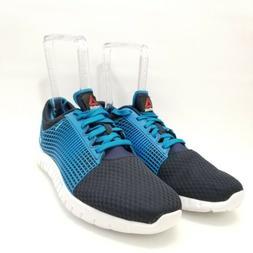 45bbc703c23 Reebok ZQuick Mens Light Running Training Shoe Size 10.5 Blu
